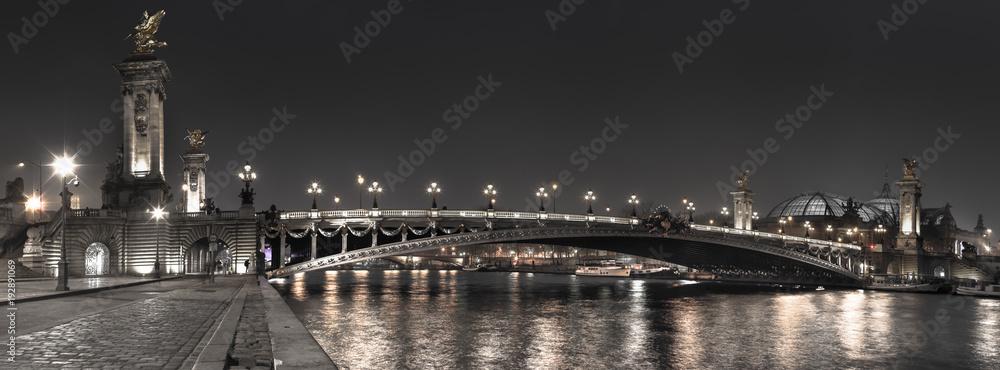 Fototapety, obrazy: Paris - Pont Alexandre III