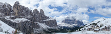 Landscape View Of Unesco World Heritage Site Dolomiti, Alta Badia, Italy