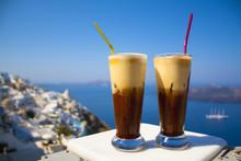 Greece Santorini Island In Cyc...