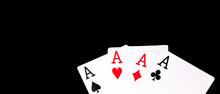 A Winning Poker Hand Of Four A...