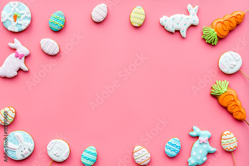 Easter Bunny And Easter Eggs Cookies Easter Symbols And Traditions