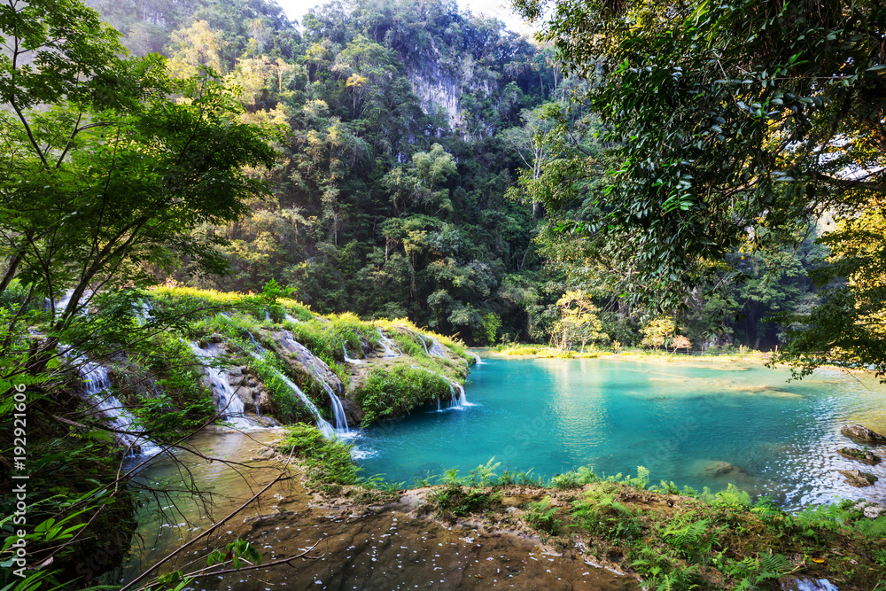 Fototapety, obrazy: Pools in Guatemala