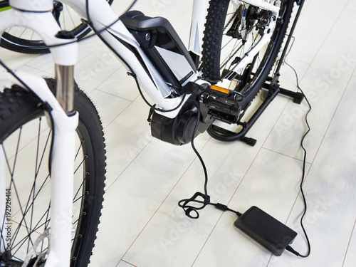 Charge battery electric bike