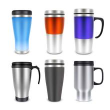 Thermo Cup Travel Mug Mock-up ...