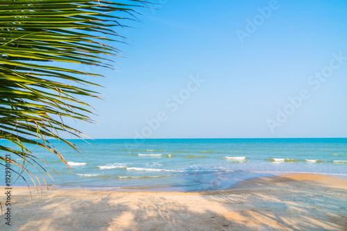 Canvas Prints Countryside Sea and beach