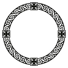 Celtic National Circle Ornamen...