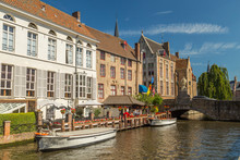 View Of Bruges, Belgium Canal ...