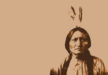 Sitting Bull - Chef Indien - P...