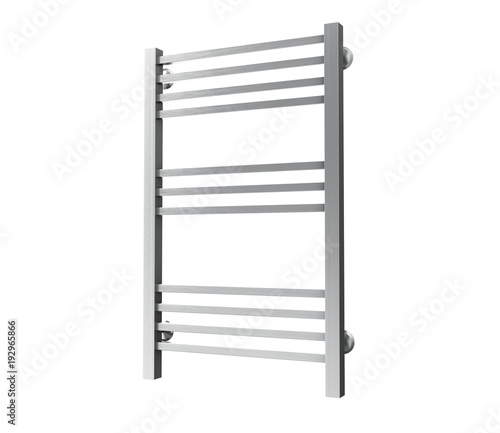 Empty drying rack, 3D rendered illustration  - Buy this