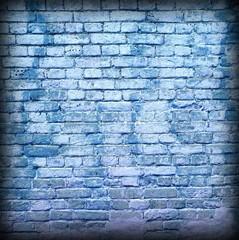 Fototapeta Do pokoju młodzieżowego Modern Street Art Frame Background Texture. Grunge Graffiti Brick Wall.