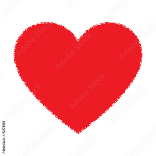 Photo Stands Hand drawn Sketch of animals Red Hand Drawn Grunge Heart logo. Vector illustration.