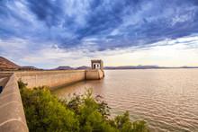 The Dam Wall At The Gariep Dam...