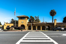 Burlingame Caltrain Station, C...