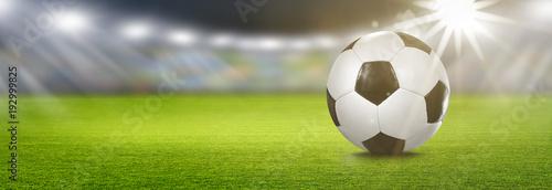 Fototapeta Fußball im Stadion