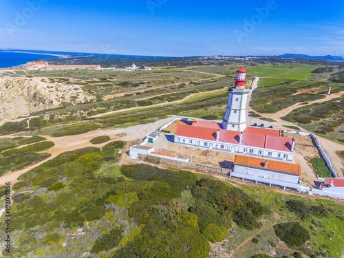 Photo  O farol no Cabo Espichel em Sesimbra, Setúbal, Portugal