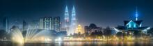 Night Scenery View Of Kuala Lu...