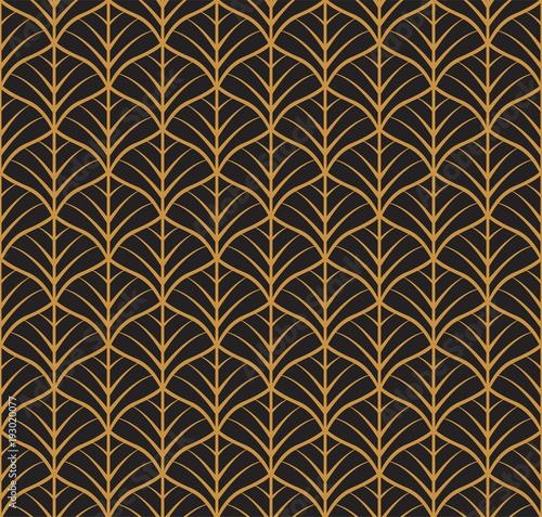 wektor-kwiatowy-wzor-w-stylu-secesyjnym-bez-szwu-geometryczne-dekoracyjne-liscie-tekstury-retro-stylowy-tlo