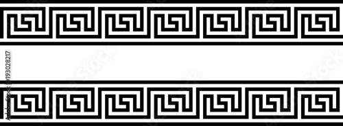 Fotomural Seamless Greek Ornament