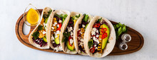 Vegetarian Snack Tacos With Gr...