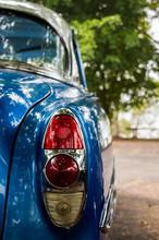 Blue Car Lights