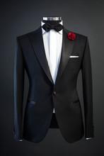 Tailored Suit, Tuxedo Isolated...