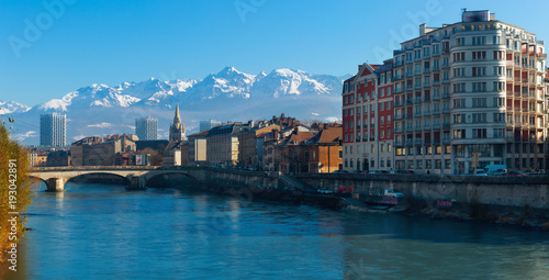 Photo Grenoble with Saint-Andre Church