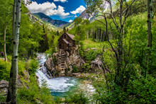 Crystal Mill In Colorado