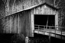 Covered Bridge In Euharlee Geo...