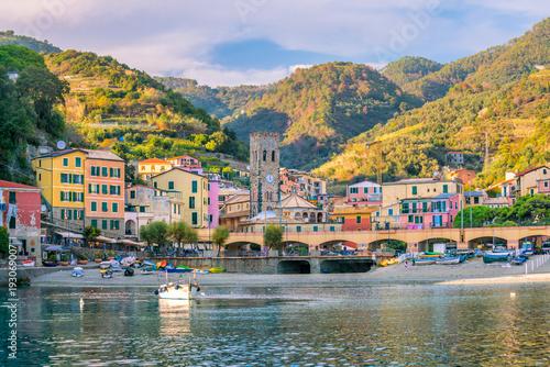 Fotografie, Obraz  Monterosso al Mare, old seaside villages of the Cinque Terre in Italy
