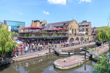 Landscape Of Camden Lock In Lo...