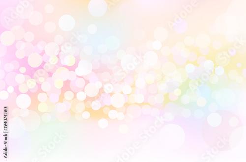 Fototapeta ファンタジーピンク春の輝き背景素材 obraz