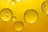 golden yellow bubble oil
