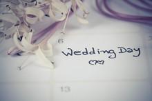 Reminder Wedding Day In Calend...