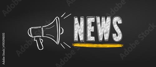 mégaphone news sur tableau