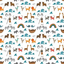 Vector Seamless Pattern With N...