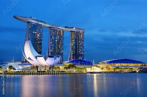 Photo  Вечерний Сингапур