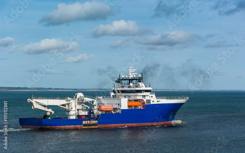 Offshore Suport Vessel Canvas-taulu