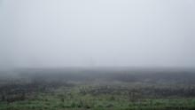 Landscape Of Dense Fog In The ...
