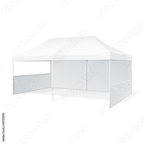 Fotografia Promotional Advertising Outdoor Event Trade Show Pop-Up Tent Mobile Advertising Marquee