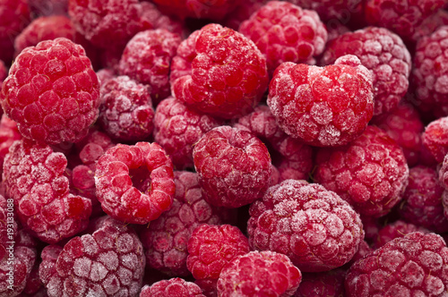 many fresh frozen raspberries