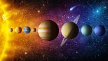 Solar System Planet, Comet, Su...