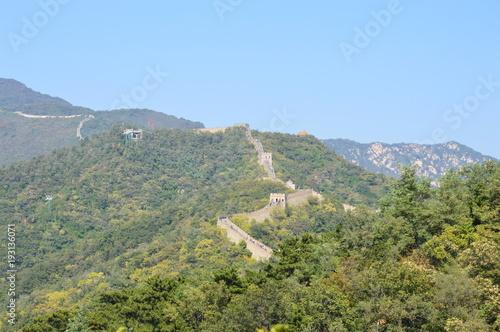 Papiers peints Muraille de Chine Un voyage sur une meiveille du monde, la muraille de Chine