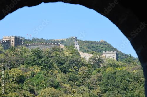 Papiers peints Kaki Un voyage sur une meiveille du monde, la muraille de Chine