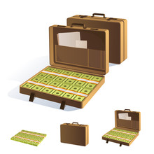 A Suitcase Of Money. Packing I...