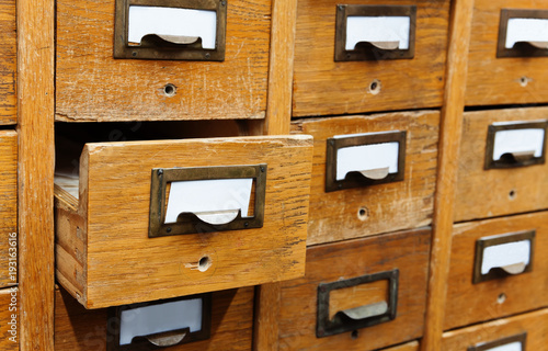 Opened Box Archive Storage Filing