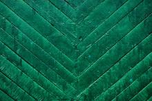 Background Of Old Green Door