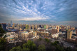 Santiago de Chile - July 08, 2017: Panoramic view of Santiago de Chile