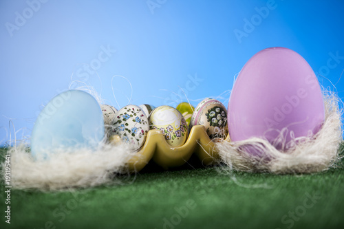 Fototapeta Malowanie Jajek obraz