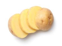 Potato Isolated On White Backg...