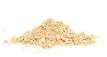 Peanut Butter Powder On A Whit...